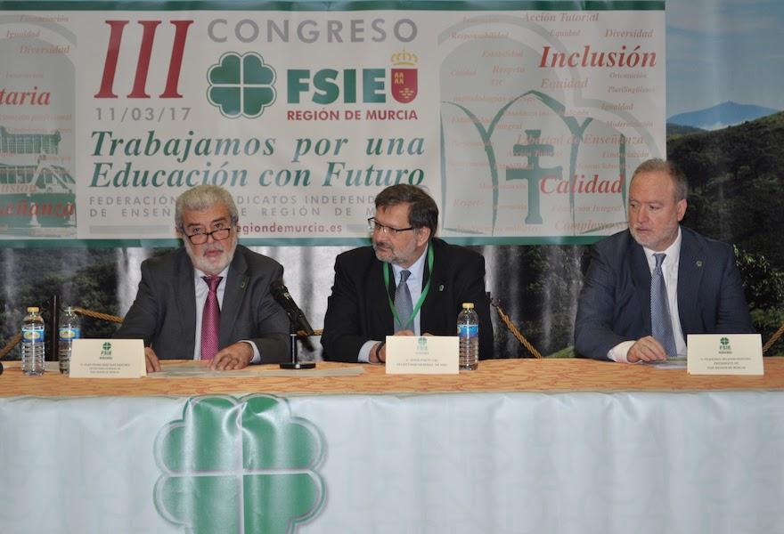 III Congreso FSIE Región de Murcia