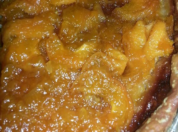 Lemon Mascarpone Pie With Apricot Coulis Recipe