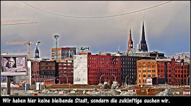 Photo: Wir haben hier keine bleibende Stadt, sondern die zukünftige suchen wir. (Hebräer 13,14). Jahreslosung 2013