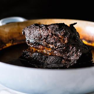 Oaxacan Mole Braised Beef.