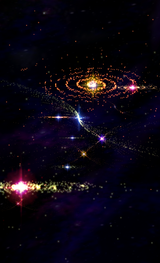 3D Stars Journey -Universe LWP- screenshot