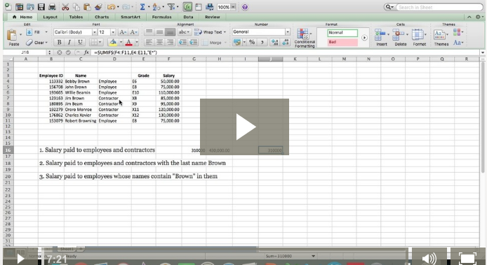 Excel Wildcard and Sumifs work wonders together.