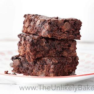 Homemade Fudgy Brownies.