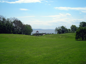 Photo: View of Chesapeake Bay from the wedding site - Swan Harbor Farm: http://www.swanharborfarm.org/