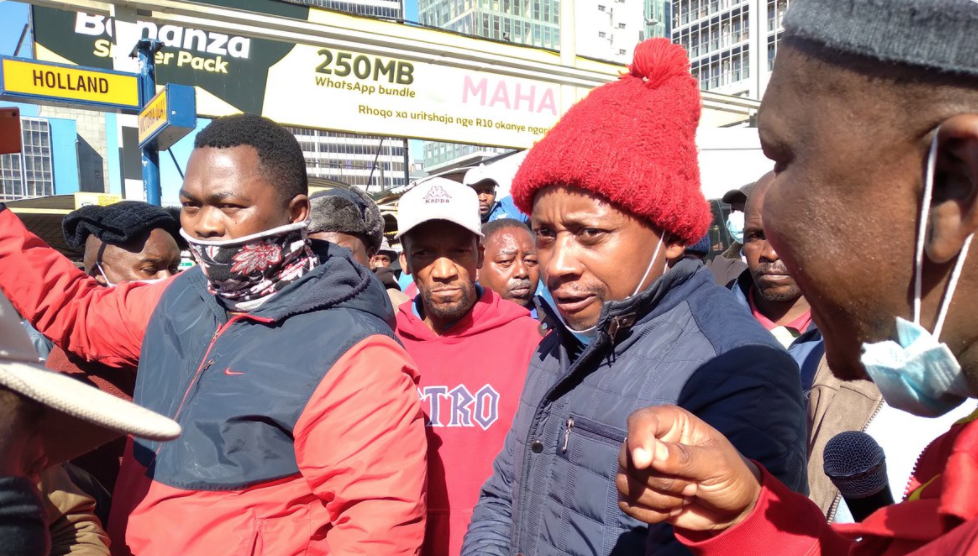 Andile Lungisa berated at Nelson Mandela Bay taxi ranks - HeraldLIVE