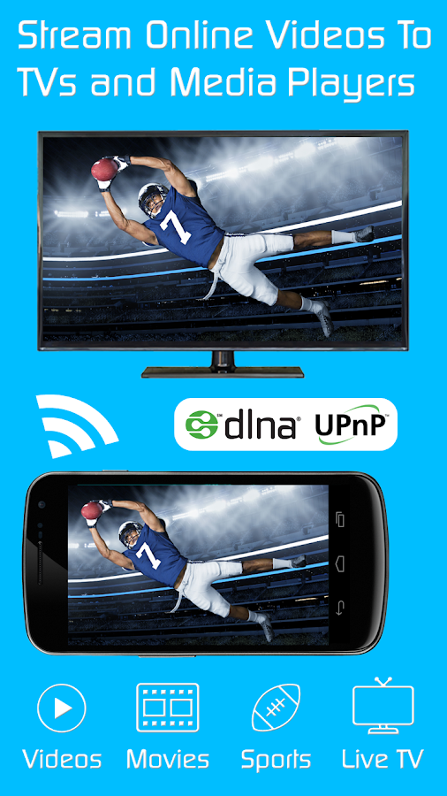 Video & TV Cast + DLNA Player & UPnP Movie Mirror- screenshot