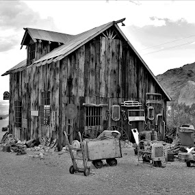 Nelson Ghost Town by Diane Garcia - Buildings & Architecture Public & Historical ( nelson,  )