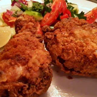 Moist and Crunchy Fried Chicken