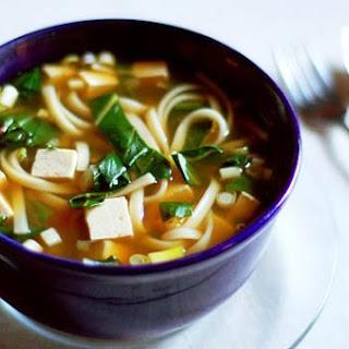 Quick Udon Noodle Soup