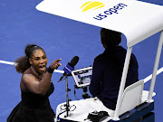 Serena Williams of the United States yells at chair umpire Carlos Ramos in the women's final against Naomi Osaka of Japan on day thirteen of the US Open tennis tournament at USTA Billie Jean King National Tennis Center in New York, US, September 8, 2018.