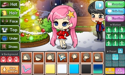 Christmas Party Pretty Girl- screenshot thumbnail