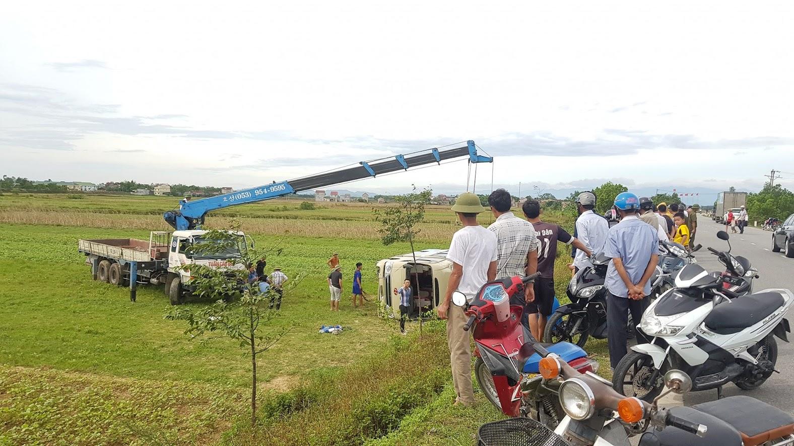Tai nạn xảy ra ở khu vực đồng ruộng vắng người