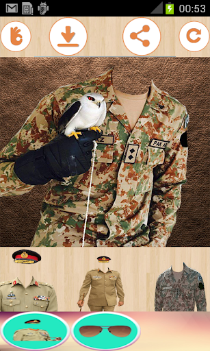 Latest Pak Army suit & Uniform changer editor 2018  screenshots 1