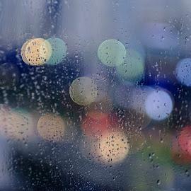 Bokeh by Beh Heng Long - Abstract Water Drops & Splashes ( waterdrops, bokeh )