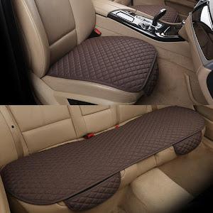 Set huse de protectie pentru scaunele auto, Maro