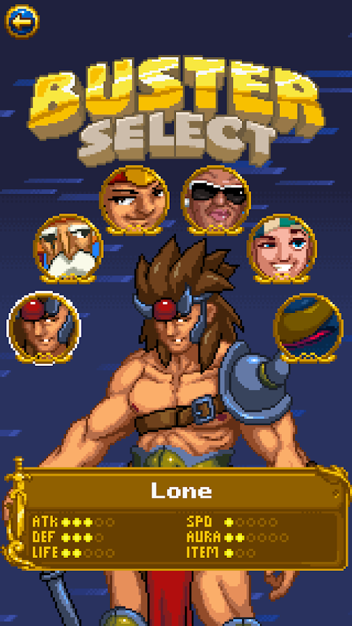 Treasure Buster- screenshot