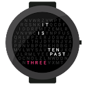 Words watchface icon