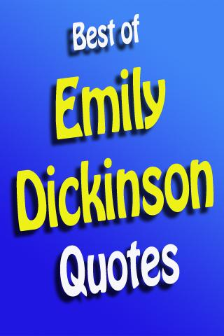 Best Of Emily Dickinson Quotes