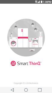 LG SmartThinQ - náhled