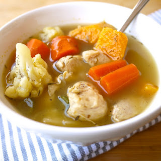 Paleo Chicken Soup (...for the Caveman's Soul) (GF)