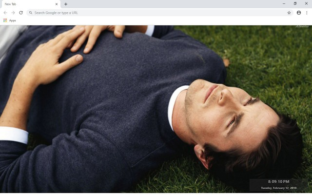 Christian Bale New Tab Theme