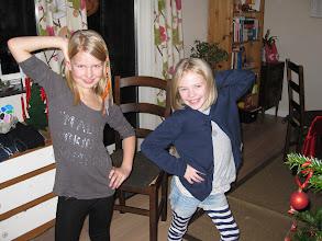 Photo: Andrea og Karoline Julen 2013 på Egevej