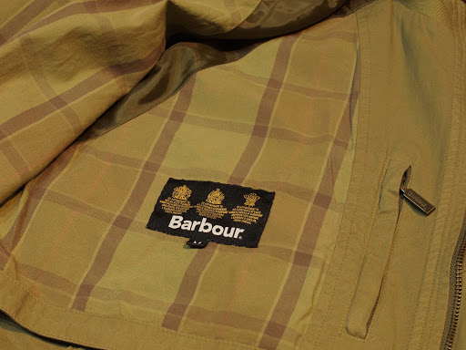 Barbour Natural Weathered Jacket