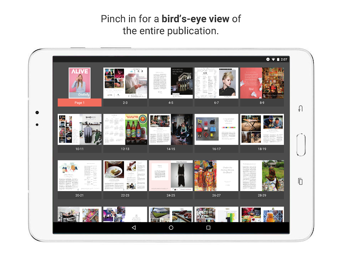 issuu - Read Magazines, Catalogs, Newspapers.: captura de pantalla