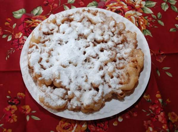 Powdered Funnel Cakes Recipe