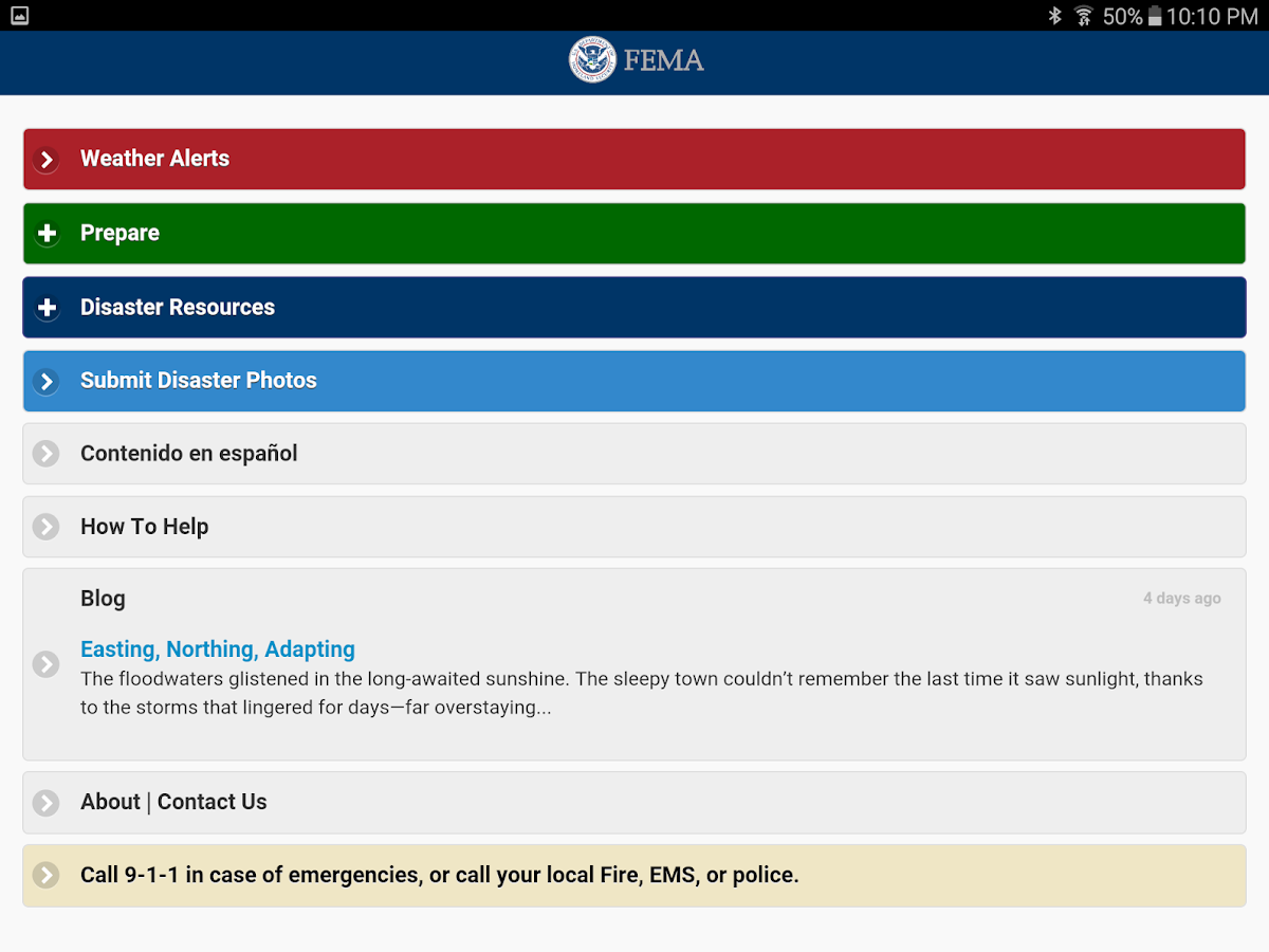 FEMA- screenshot