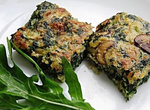 Spinach Squares (or Rounds) Recipe