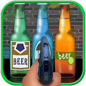Shoot Beer Bottles