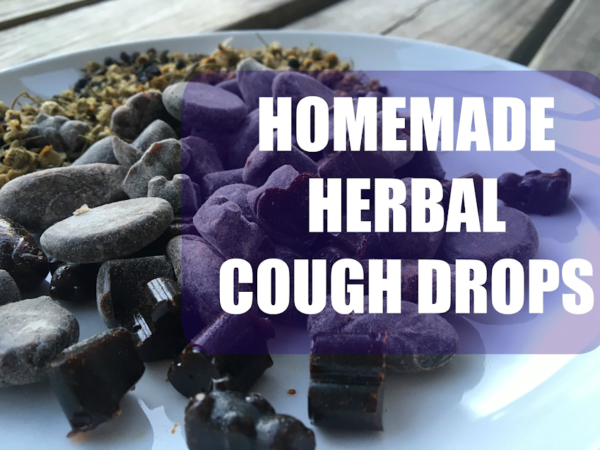 DIY Elderberry Cough Drop Recipe