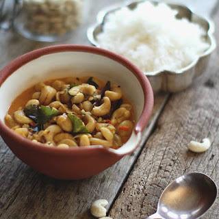 Cashew Nut Curry.