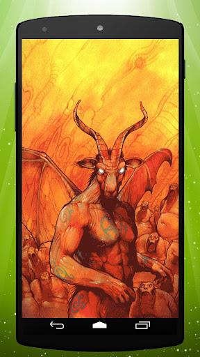 Devil Live Wallpaper