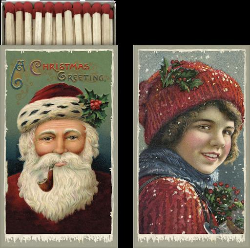 Tändstickor röd jul Sköna Ting