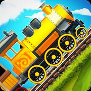ألعاب المتعة والتسلية للأطفال: سباق قطار