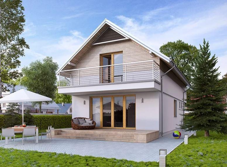 Projekt domu Koliber 2 CE