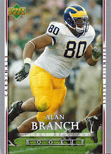 Photo: Alan Branch 2007 Upper Deck First Edition RC