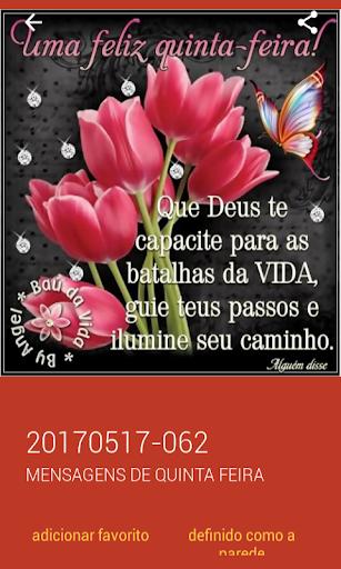 Mensagens de Quinta Feira 2.0.0.0 screenshots 3