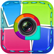Collage Photo Maker -Insta Square-musically Selfie