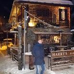 Harry's Bar in Zermatt in Zermatt, Valais, Switzerland