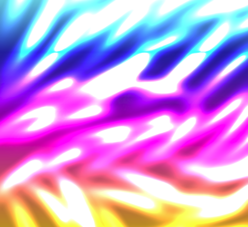 Colored Lights Abstract Background, Sea Life