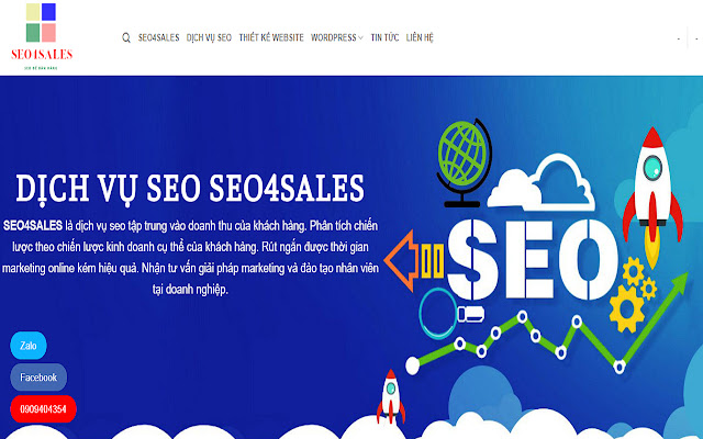 Dịch vụ SEO tổng thể - SEO4SALES