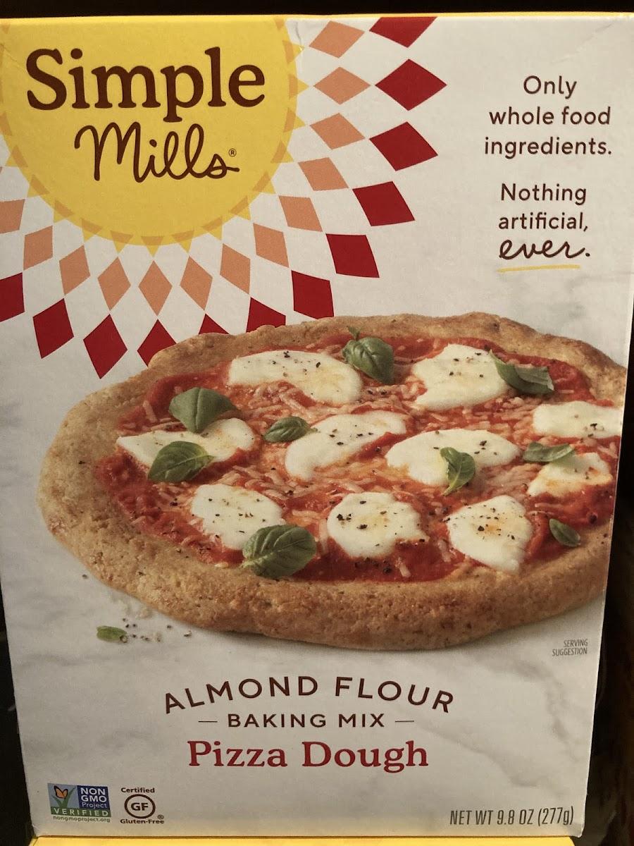 Almond Flour Baking Mix - Pizza Dough