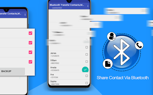 Bluetooth Transfer Contacts Move Apps Share App for PC