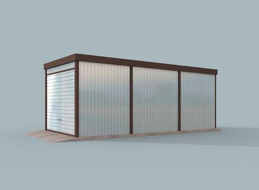 projekt GB30 Garaż Blaszany