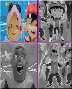 Slide Boboboy Puzzle Crazy Game - náhled