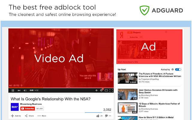 Adguard AdBlocker chrome extension