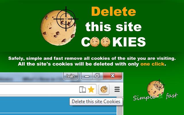 Delete this site Cookies